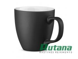 Porcelianinis puodelis Panthony 450ml matinis juodas HD 94045-103