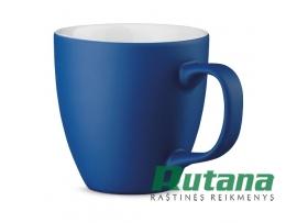 Porcelianinis puodelis Panthony 450ml matinis mėlynas HD 94045-104