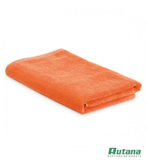 """Rankšluostis paplūdimiui su maišeliu """"Sardegna"""" oranžinis HD 98375-128"""