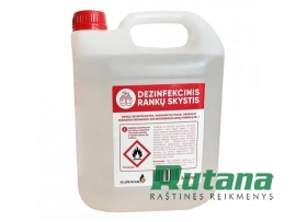 Dezinfekantas rankoms su etanoliu 4000 ml