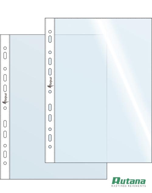 Dokumentų įmautė A4 40mic skaidri Forpus 20502