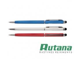 "Automatinis tušinukas ""Touch Pen"" 0.7mm mėlynas Centrum 85418"