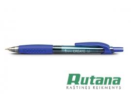 """Automatinis gelio rašiklis """"Create"""" mėlynas Forpus 51962"""