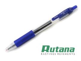 Automatinis gelio rašiklis SARASA 0.5mm mėlynas Zebra
