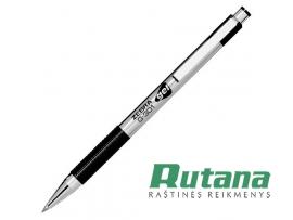 Automatinis gelio rašiklis G-301 Gel 0.7mm juodas Zebra