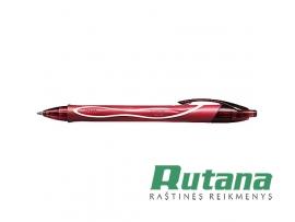 Automatinis gelio rašiklis Gel-ocity Quick Dry 0.7mm raudonas BIC