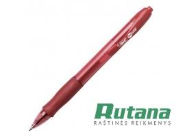 Automatinis gelio rašiklis Gel-ocity 0.7mm raudonas BIC