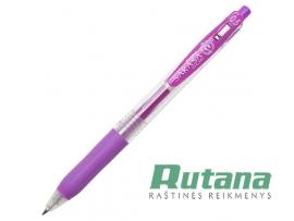 Automatinis gelio rašiklis SARASA CLIP 0.5mm violetinis Zebra