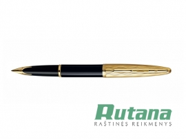 Plunksnakotis Carene Essential Black and Gold GT Waterman S0909750