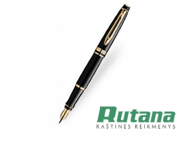 Plunksnakotis Expert 3 Black Laque GT Waterman S0951640