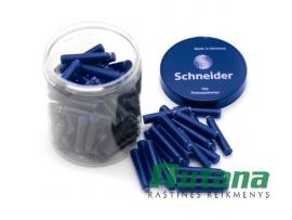 Rašalo kapsulės 100 vnt. dėžutėje mėlynos Schneider 6803