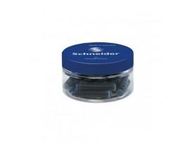 Rašalo kapsulės 30 vnt. dėžutėje mėlynos Schneider 6703
