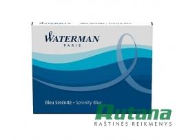 Rašalo kapsulė ilga 1 vnt. mėlyna Waterman S0110860