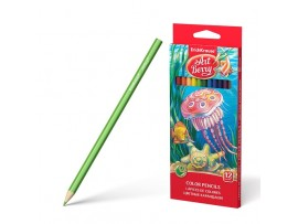 Spalvoti pieštukai ArtBerry 12 spalvų ErichKrause 32878