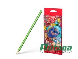 Spalvoti akvareliniai pieštukai ArtBerry 12 spalvų ErichKrause 32485