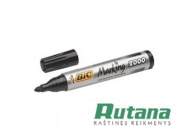 Permanentinis žymeklis Marking 2000 apvalus 4.95mm juodas BIC