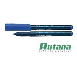 Permanentinis žymeklis Maxx 240 1-2 mm mėlynas Schneider 124003