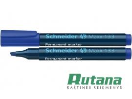 Permanentinis žymeklis Maxx 133 1-4 mm mėlynas Schneider
