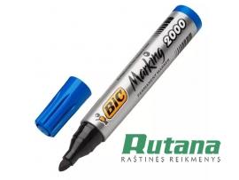 Permanentinis žymeklis Marking 2000 apvalus 4.95mm mėlynas BIC