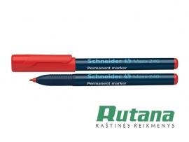 Permanentinis žymeklis Maxx 240 1-2 mm raudonas Schneider 124002