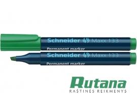 Permanentinis žymeklis Maxx 133 1-4 mm žalias Schneider