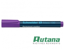 Permanentinis žymeklis Maxx 130 1-3 mm violetinis Schneider