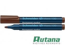 Permanentinis žymeklis Maxx 130 1-3 mm rudas Schneider