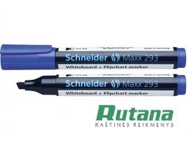Žymeklis baltai lentai Maxx 293 mėlynas Schneider 129302