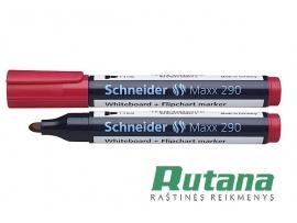 Žymeklis baltai lentai Maxx 290 raudonas Schneider 129003