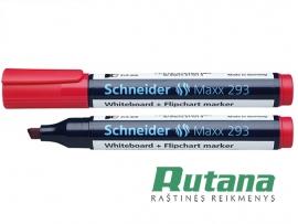 Žymeklis baltai lentai Maxx 293 raudonas Schneider 129303