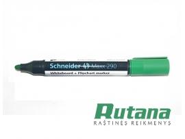 Žymeklis baltai lentai Maxx 290 žalias Schneider 129004
