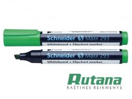 Žymeklis baltai lentai Maxx 293 žalias Schneider 129304
