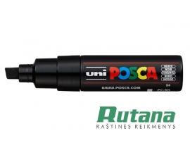Žymeklis POSCA PC-8K 8.0mm juodas Uni Mitsubishi Pencil