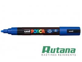 Žymeklis POSCA PC-5M 1.8-2.5mm mėlynas Uni Mitsubishi Pencil