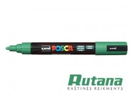 Žymeklis POSCA PC-5M 1.8-2.5mm žalias Uni Mitsubishi Pencil
