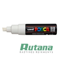Žymeklis POSCA PC-8K 8.0mm baltas Uni Mitsubishi Pencil