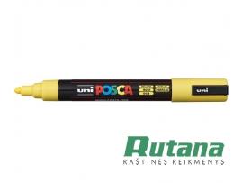 Žymeklis POSCA PC-5M 1.8-2.5mm geltonas Uni Mitsubishi Pencil