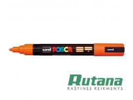 Žymeklis POSCA PC-5M 1.8-2.5mm oranžinis Uni Mitsubishi Pencil