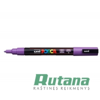 Žymeklis POSCA PC-3M 0.9-1.3mm violetinis Uni Mitsubishi Pencil