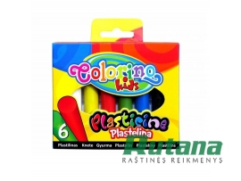 "Plastilinas 6 spalvų ""Colorino Kids"" Patio 42680PTR"