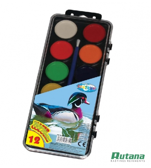 Akvarelė Zoo 12 spalvų Centrum 82674