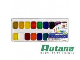 """Akvarelė 18 spalvų """"Klasika"""" Luč"""