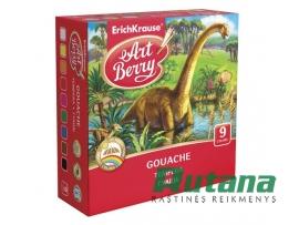 Guašas ArtBerry 9 spalvų ErichKrause 41745